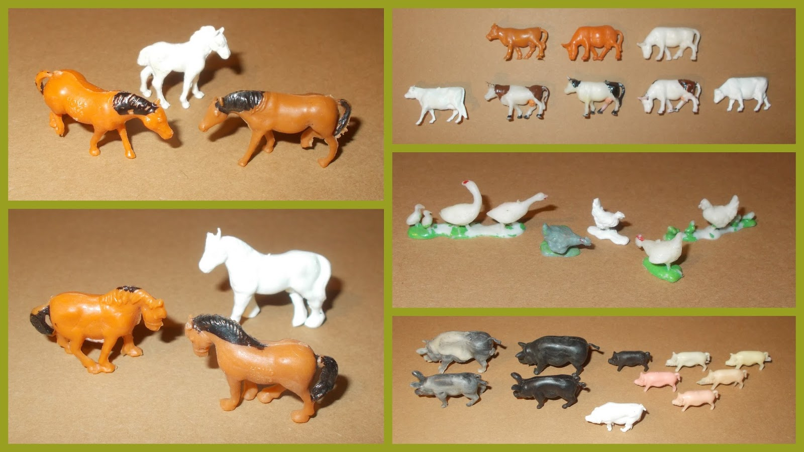 Blue Box Mini Farm Animals Also Issued By Marx As Part Of Their Contract Manufactured Sunshine Series Well Being Under Tai Sang S Other Brand