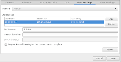 Konfigurasi IP Address