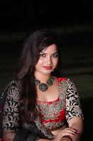 Sirisha Dasari in Red Ghagra Backless Choli ~  034.JPG