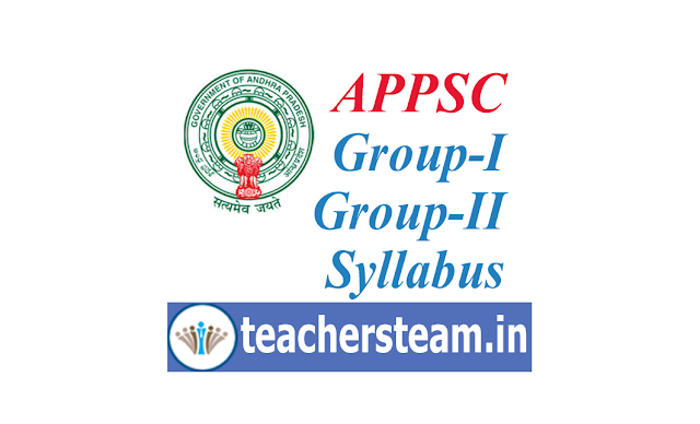 APPSC Group-1 Group-2 Syllabus