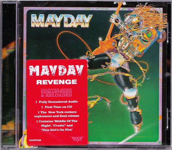 MAYDAY - Revenge [Rock Candy remastered / First Time on CD] (2016) full