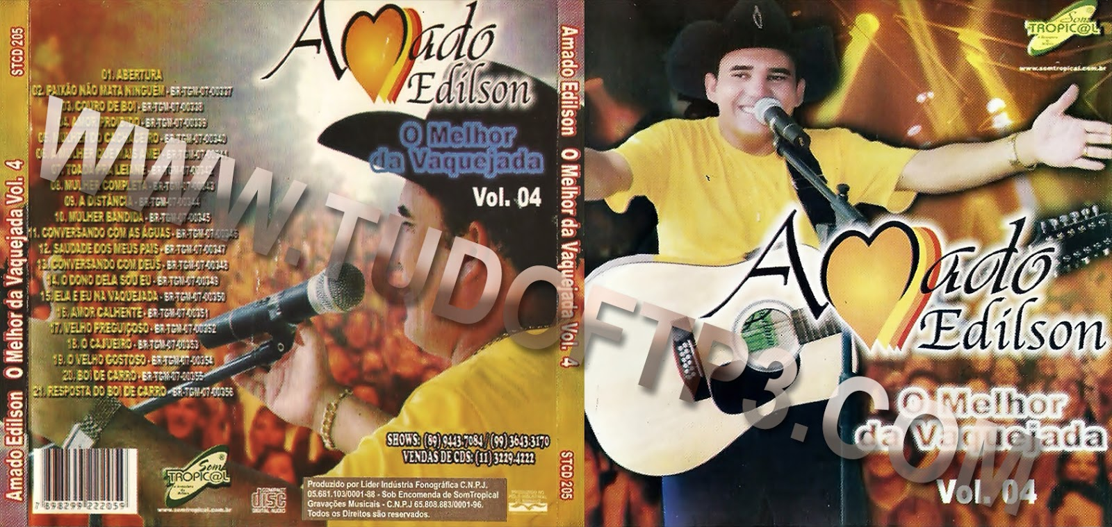 cd de amado edilson vol 1