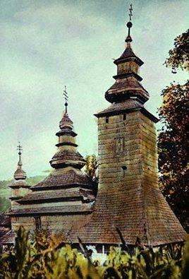 Церква Покрови Пр. Богородиці. 1792 р. Село Плоске Свалявського р-ну