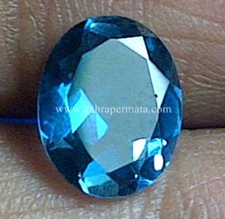 Batu London Blue Topaz + Memo - ZP 582
