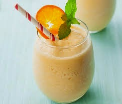 Membuat Smoothie Jeruk Yogurt 1