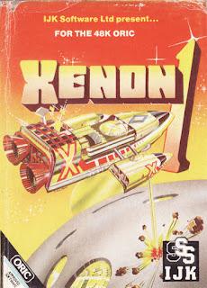 Portada del casete de Xenon 1 de 1983