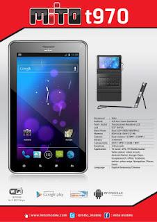 Harga Tablet Mito T970 Terbaru