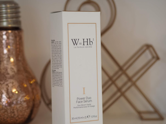 W=Hb²  Power Duo Face Serum | la formule secrète