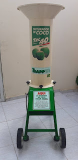 Prefeitura de Picuí adquire máquina específica para triturar coco verde