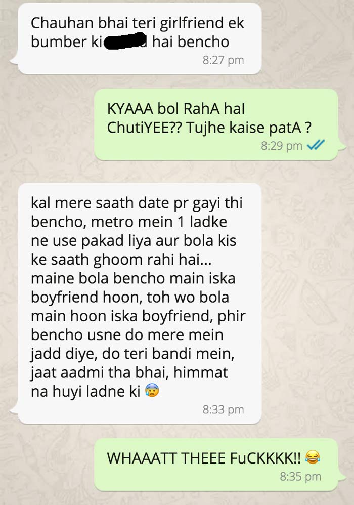 8 Crazy Chats are Ready to make you ROFL