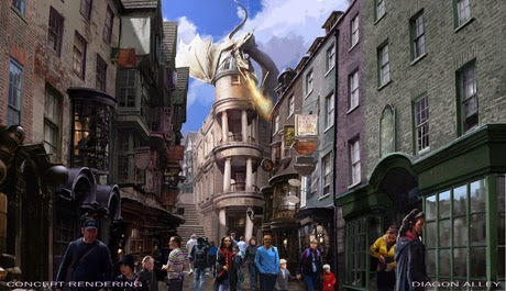 The Wizarding World of Harry Potter, Diagon Alley, Harry Potter, Universal Orlando