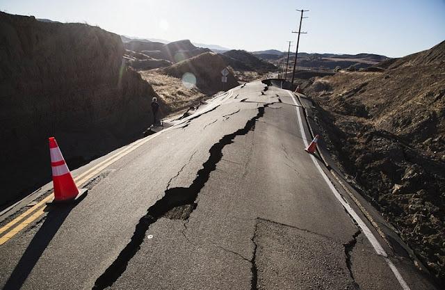 Resultado de imagem para rachaduras terremoto gif
