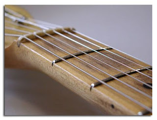 Diapasón de Arce sin Barnizar de Guitarra Eléctrica