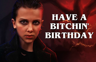 Eleven birthday card