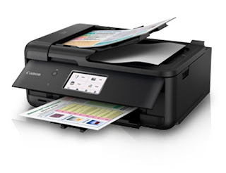 is an across the board inkjet printer amongst impress Canon PIXMA TR8570 Drivers Download, Review And Price