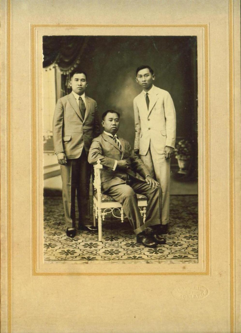 Foto Kuno Jaman Belanda Nederlandsch In Dari Semarang Foto Keseluruhan Dengan Folder Nya