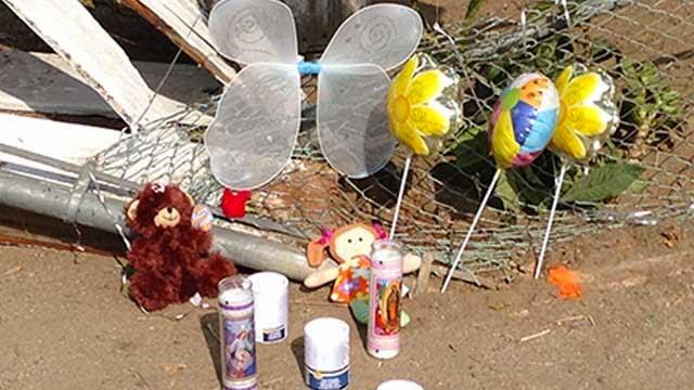 porterville car crash hit and run dui adolfo balbuena angeles moreno 3 year old girl