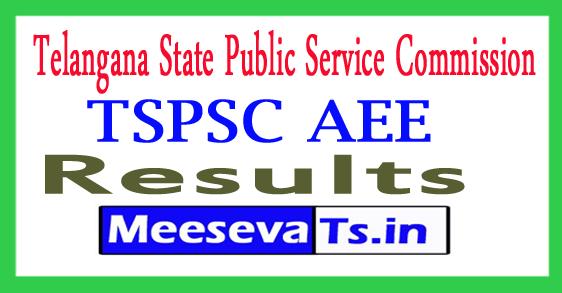 TSPSC AEE Result 2017