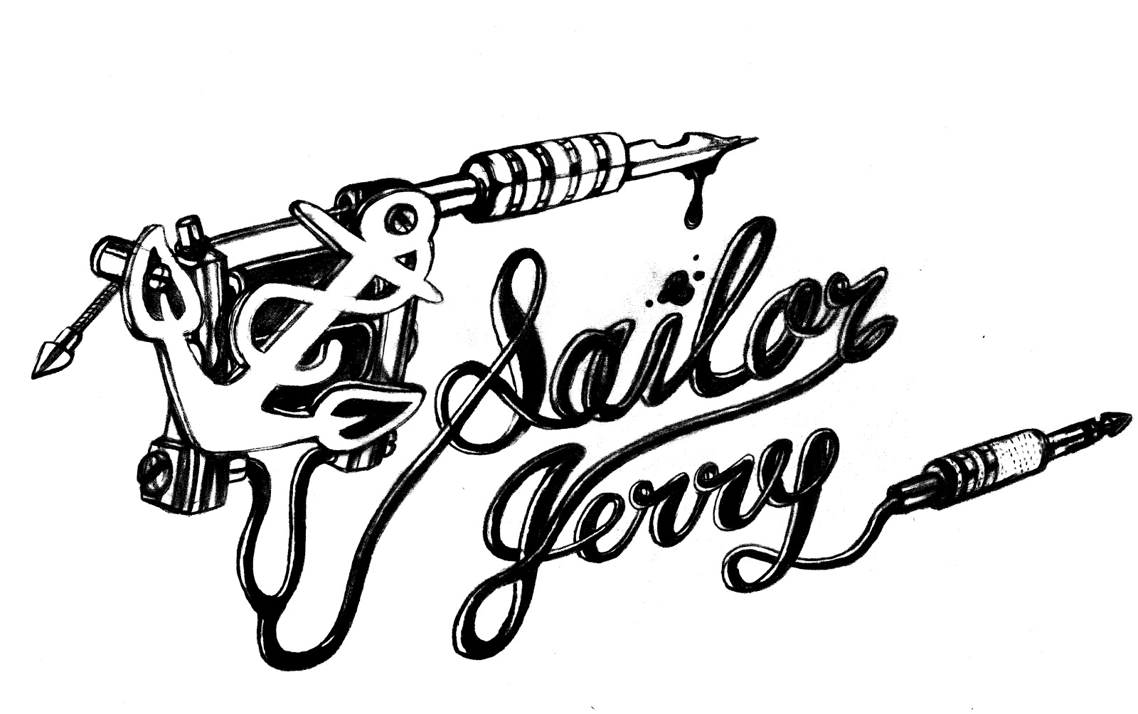 TrueInk Incorporated: Sailor Jerry Pin Up