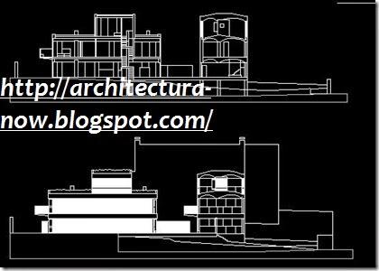 Maisons jaoul le corbusier dxf dwg plan autocad archi for Le plan d une maison
