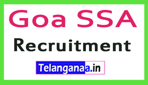 Goa SSA Recruitment