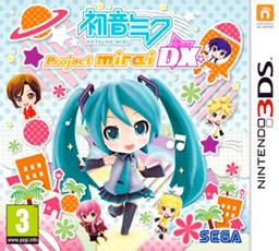 Hatsune Miku: Project Mirai DX 3DS cover 2