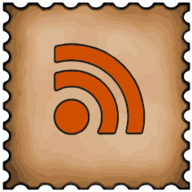 rss stamp icon