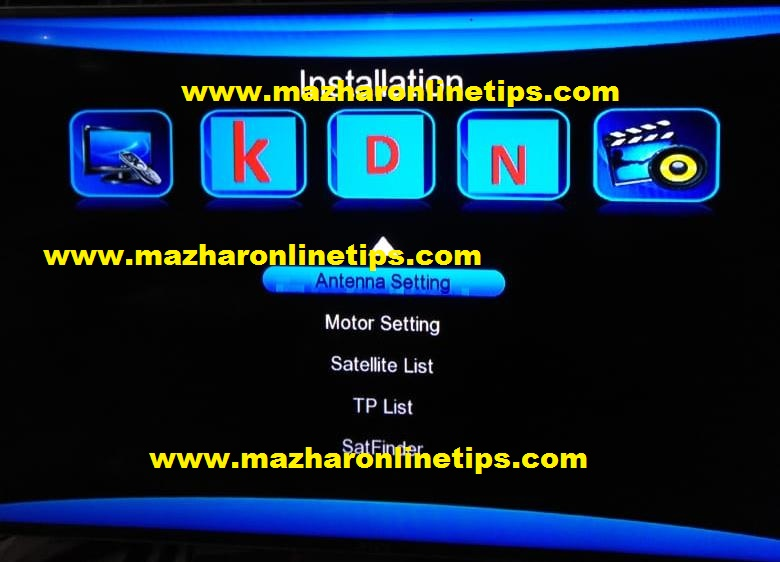 GX6605S CONVERT TO NEW MENU UPDATE SOFTWARE SONY OK ALL RECEIVER