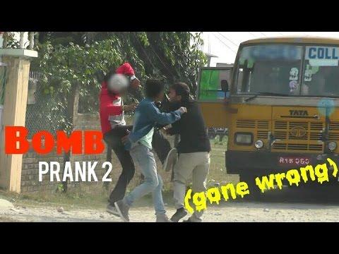 Nepali Prank - Epic Bomb Prank 2