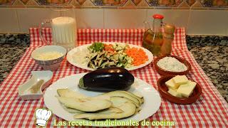 Receta de lasaña de berenjena con verduras