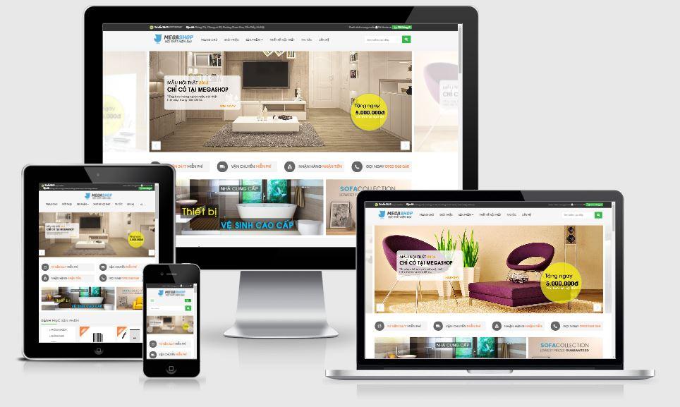 Cung cấp mẫu giao diện template blogspot bán hàng đẹp