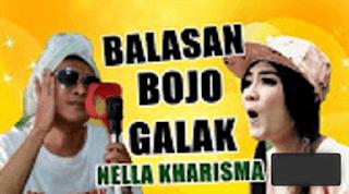 Lirik Lagu Balasan Bojo Galak - Nella Kharisma