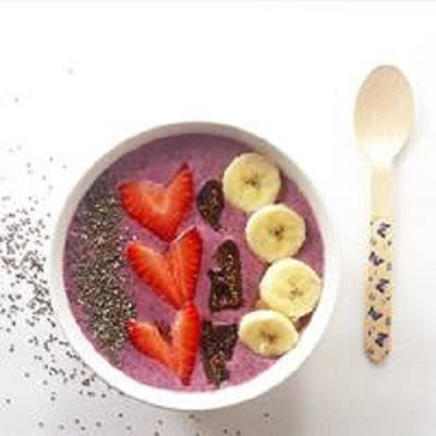 Carrington Farms Berry Chia Smoothie Bowl Recipe