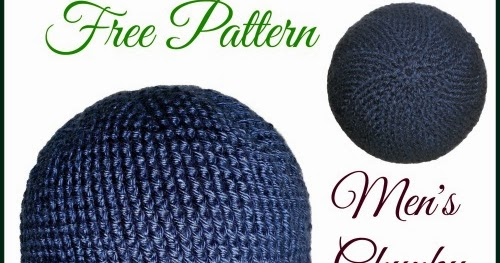 My Hobby Is Crochet Mens Chunky Hat Free Crochet Pattern