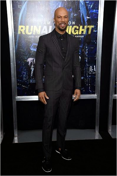 Common at Run All Night Premiere