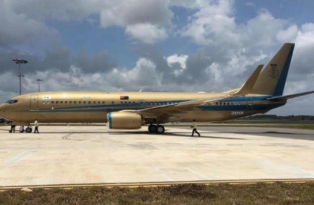 Hajat Sultan Johor Dengan Pesawat 'Emas' Boeing 737 Miliknya