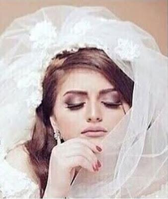 """حلا الترك غاضبة من نشر صور """"زفافها"""" - صور زفاف حلا الترك"""