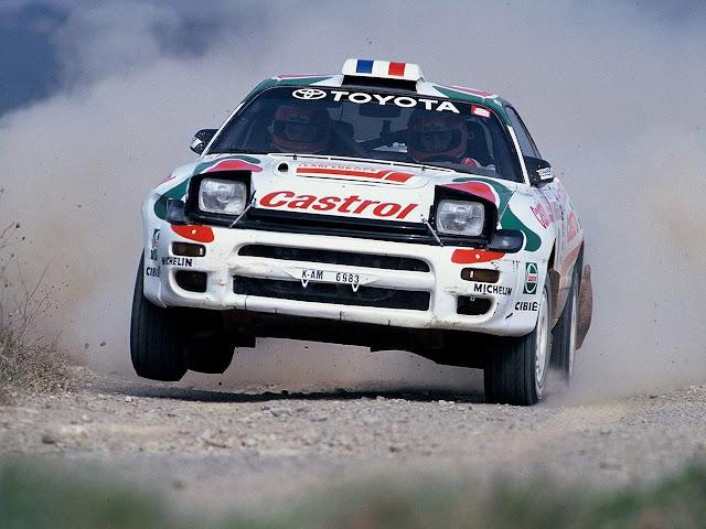 Toyota Celica ST185, GT-4, samochody rajdowe