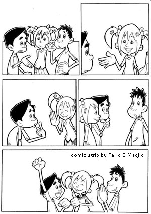 Komik Strip by Farid S Madjid
