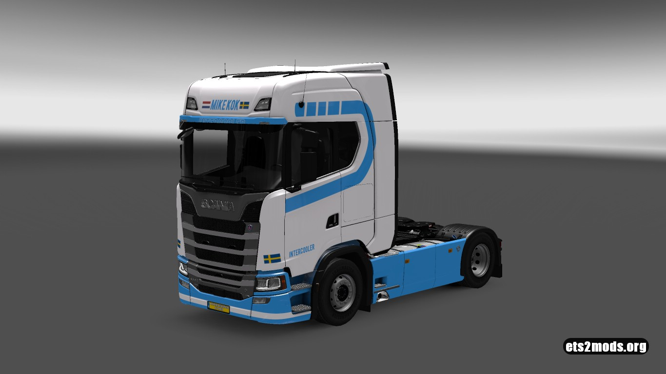 Mike Kok Skin for Scania S580