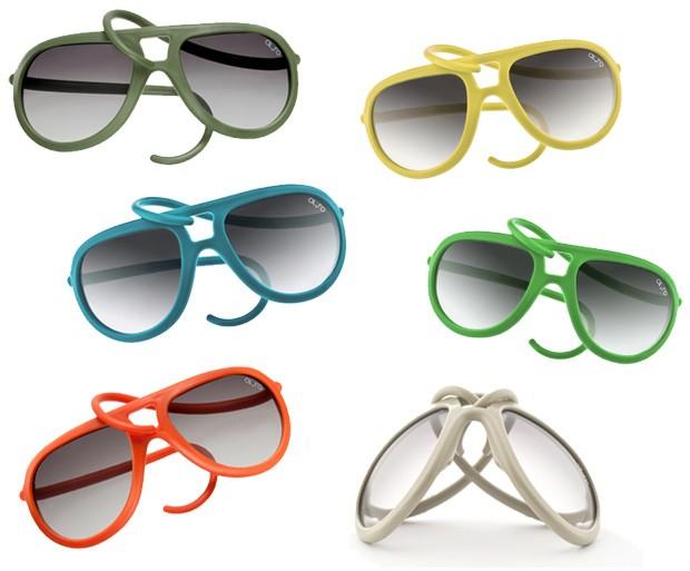 Os óculos da ALeRO Design acabaram de chegar no Brasil, eles são feitos de  silicone colorido, então não quebram, não rasgam, não deformam e ainda são  ... 7c35a2f658