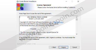 Halaman License Agreement