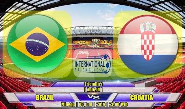 Prediksi Brasil vs Kroasia 03 Juli 2018