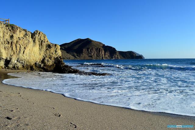 Playa Isleta del Moro en el Cabo de Gata