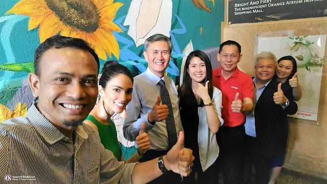 Sunway Pyramid, Dato' Jeffrey Ng, Caryn Koh, Bloom,Sunway REIT,