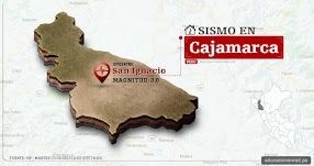 Temblor en Cajamarca de 3.6 Grados (Hoy Martes 17 Octubre 2017) Sismo EPICENTRO San Ignacio - Jaén - Cutervo - IGP - www.igp.gob.pe