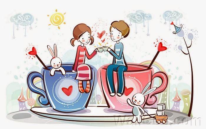 Kumpulan Gambar Animasi Kartun Korea Romantis