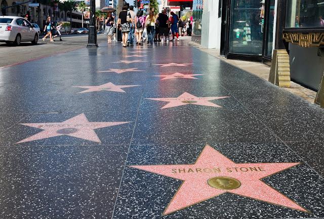 Calçada da Fama de Hollywood em Los Angeles