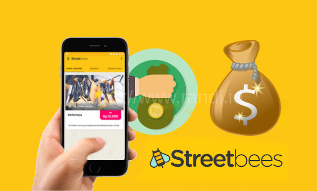 Cara Mendapatkan Uang dari Aplikasi Streetbees Android