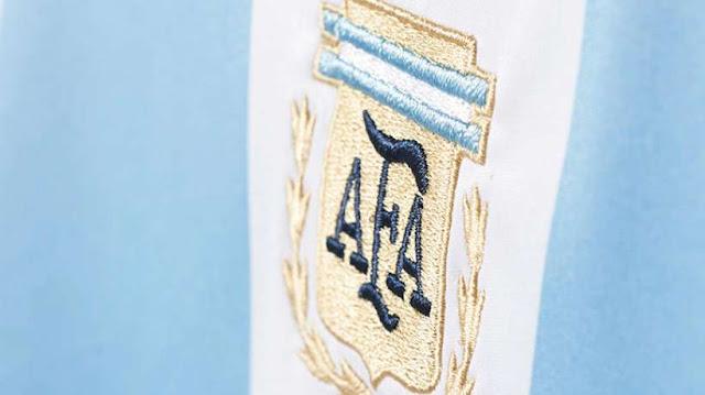 L'Argentine a présenté sa nouvelle tunique
